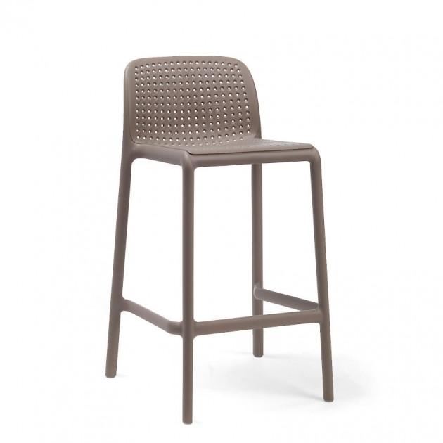 На фото: Напівбарний стілець Lido Mini Tortora (40345.10.000), Барні стільці Nardi, каталог, ціна