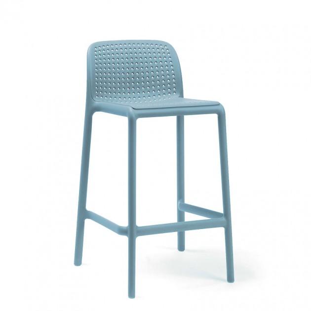 На фото: Напівбарний стілець Lido Mini Celeste (40345.39.000), Барні стільці Nardi, каталог, ціна