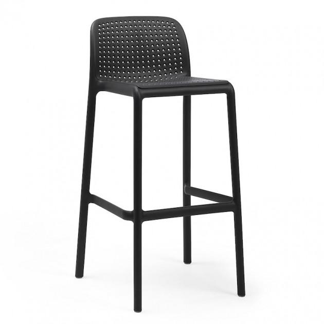 На фото: Барний стілець Lido Antracite (40344.02.000), Барні стільці Nardi, каталог, ціна
