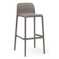 На фото: Барний стілець Lido Tortora (40344.10.000), Барні стільці Nardi, каталог, ціна