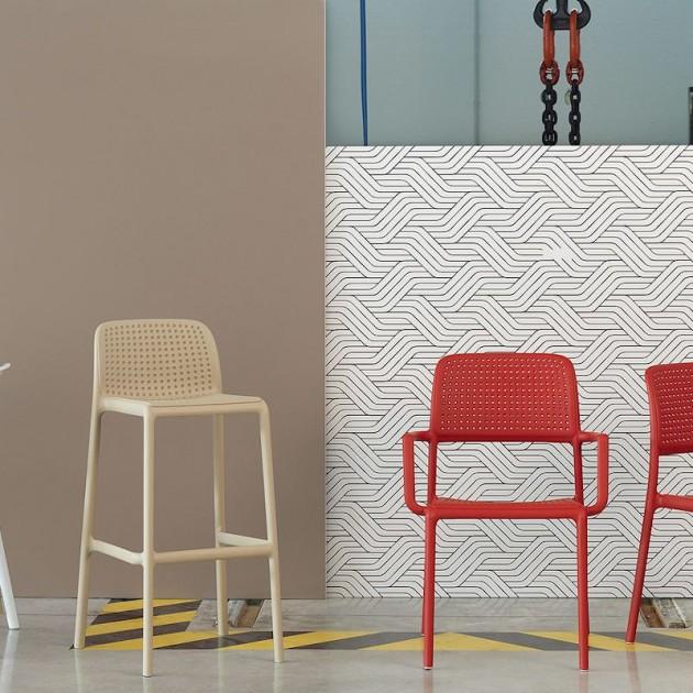 На фото: Барний стілець Lido Caffe (40344.05.000), Барні стільці Nardi, каталог, ціна