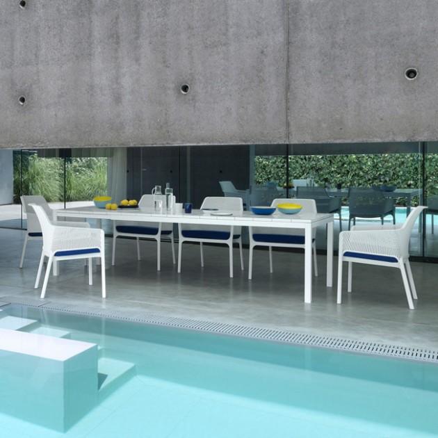 На фото: Крісло Net Relax Bianco (40327.00.000), Пластикові крісла Nardi, каталог, ціна