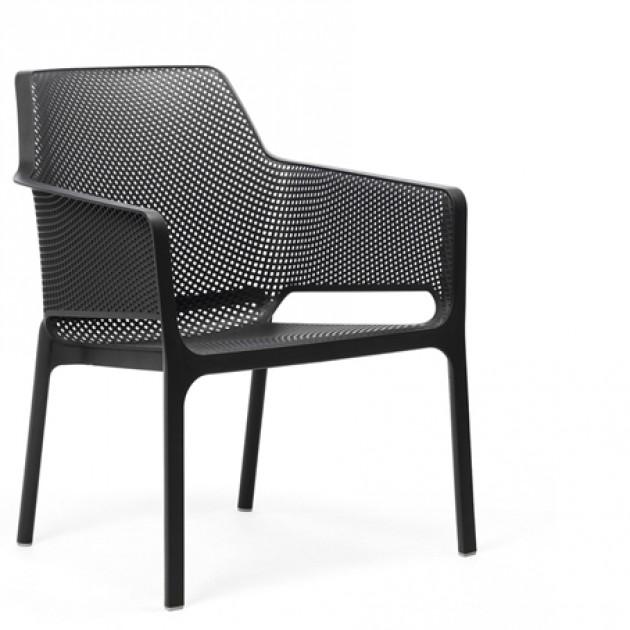 На фото: Крісло Net Relax Antracite (40327.02.000), Пластикові крісла Nardi, каталог, ціна