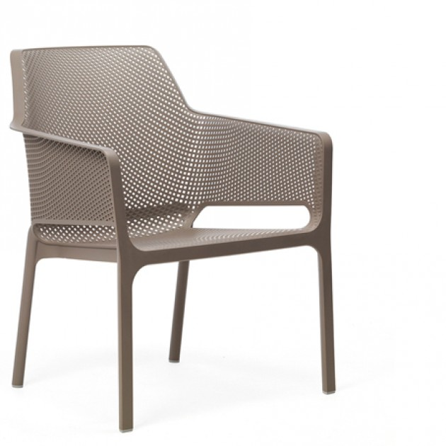 На фото: Комплект Net Bench Relax Tortora (k40338.10.000), Диванні комплекти з пластику Nardi, каталог, ціна