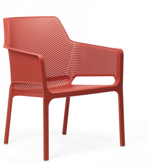 На фото: Крісло Net Relax Corallo (40327.75.000), Пластикові крісла Nardi, каталог, ціна