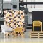 На фото: Стілець Net Senape (40326.56.000), Пластикові стільці Nardi, каталог, ціна