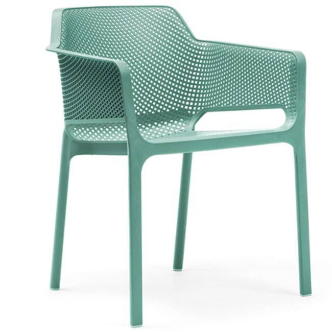 На фото: Стілець Net Salice (40326.04.000), Пластикові стільці Nardi, каталог, ціна