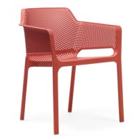 На фото: Стілець Net Corallo (40326.75.000), Пластикові стільці Nardi, каталог, ціна