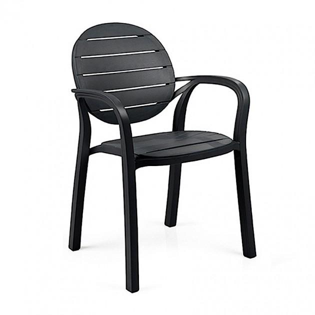 На фото: Крісло Palma Antracite (40237.02.002), Пластикові стільці Nardi, каталог, ціна