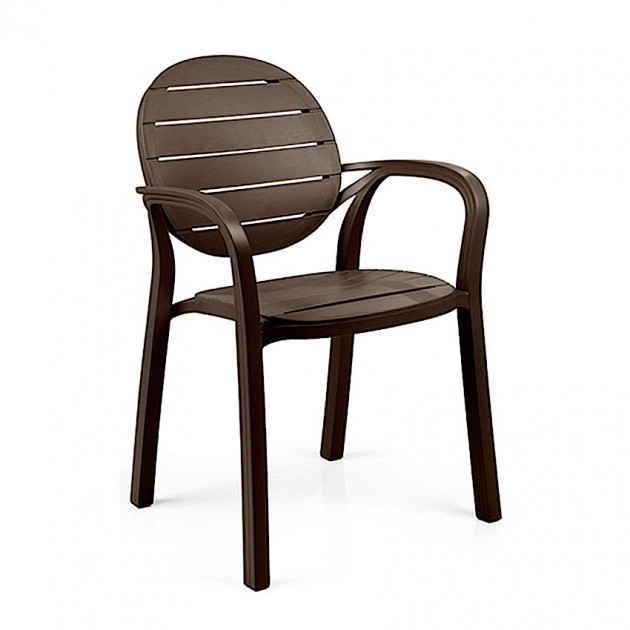 На фото: Крісло Palma Caffe (40237.05.005), Пластикові стільці Nardi, каталог, ціна