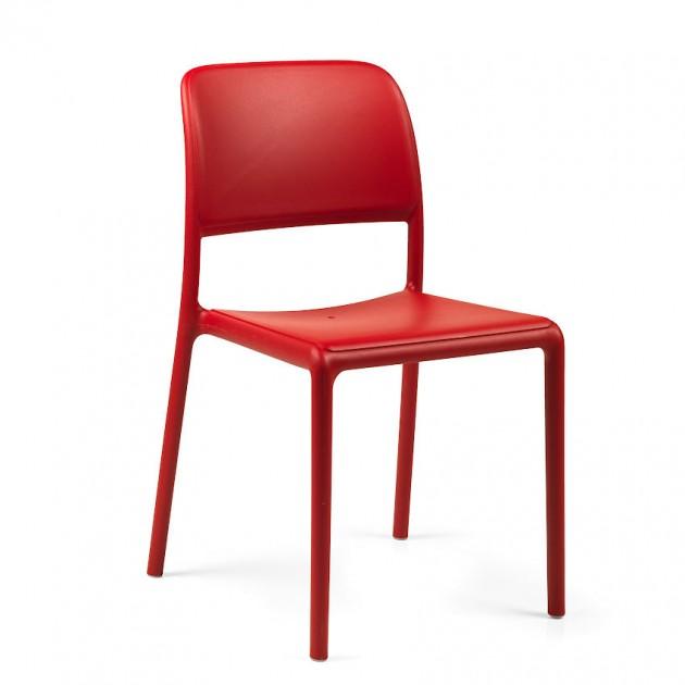 На фото: Стілець Riva Bistrot Rosso (40247.07.000), Пластикові стільці Nardi, каталог, ціна