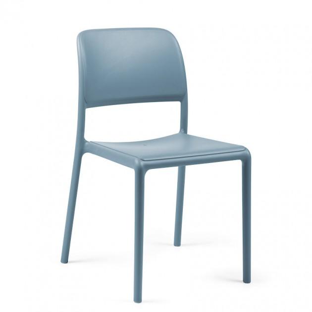 На фото: Стілець Riva Bistrot Celeste (40247.39.000), Пластикові стільці Nardi, каталог, ціна