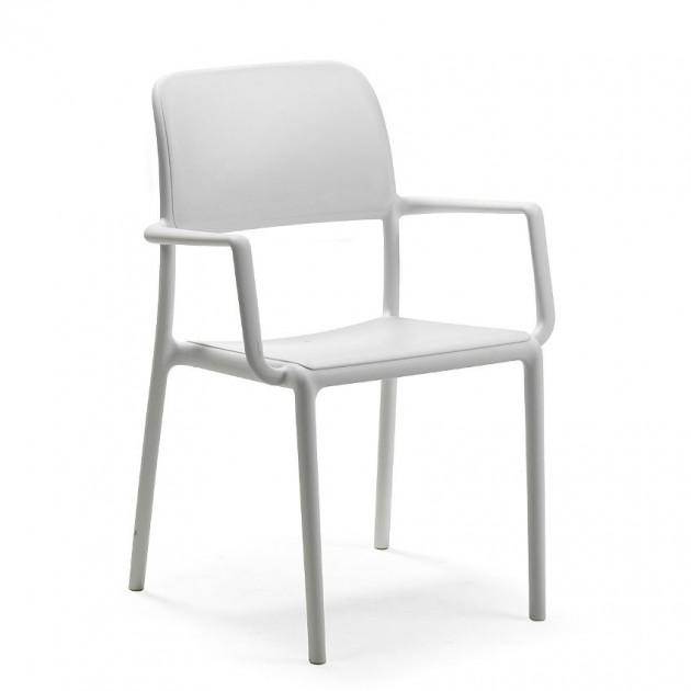 На фото: Стілець Riva Bianco (40246.00.000), Пластикові стільці Nardi, каталог, ціна