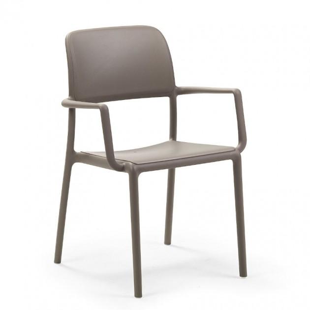 На фото: Стілець Riva Tortora (40246.10.000), Пластикові стільці Nardi, каталог, ціна