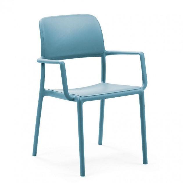 На фото: Стілець Riva Celeste (40246.39.000), Пластикові стільці Nardi, каталог, ціна