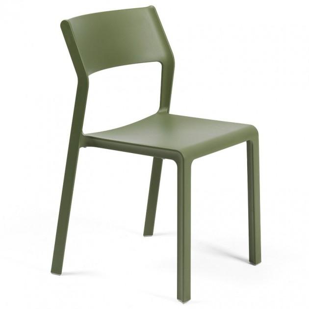 На фото: Стілець Trill Bistrot Agave (40253.16.000), Пластикові стільці Nardi, каталог, ціна
