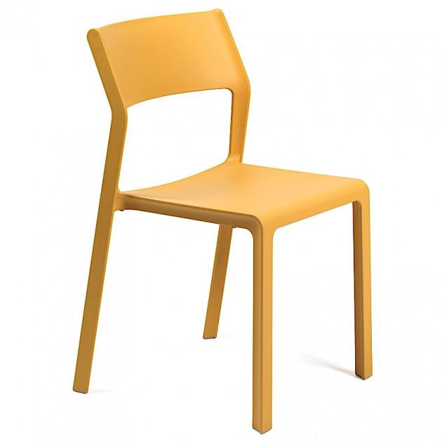 На фото: Стілець Trill Bistrot Senape (40253.56.000), Пластикові стільці Nardi, каталог, ціна