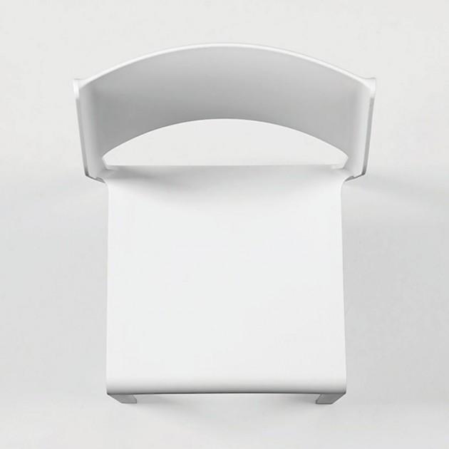 На фото: Стілець Trill Bistrot Bianco (40253.00.000), Пластикові стільці Nardi, каталог, ціна
