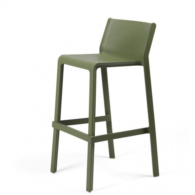 На фото: Напівбарний стілець Trill mini Agave (40353.16.000), Пластикові стільці Nardi, каталог, ціна
