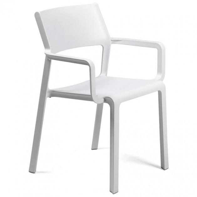 На фото: Крісло Trill Bianco (40250.00.000), Пластикові крісла Nardi, каталог, ціна