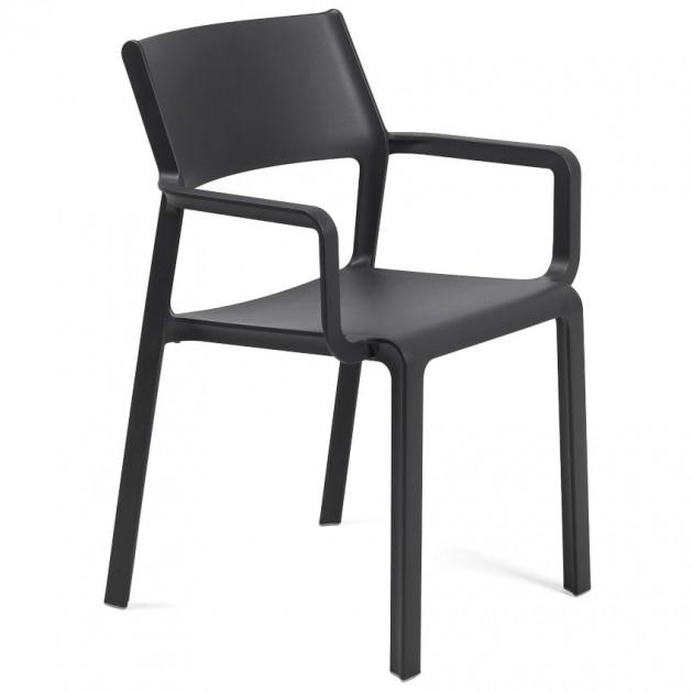 На фото: Крісло Trill Antracite (40250.02.000), Пластикові крісла Nardi, каталог, ціна