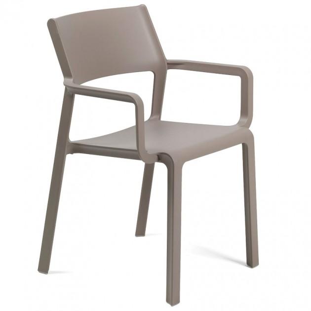 На фото: Крісло Trill Tortora (40250.10.000), Пластикові крісла Nardi, каталог, ціна