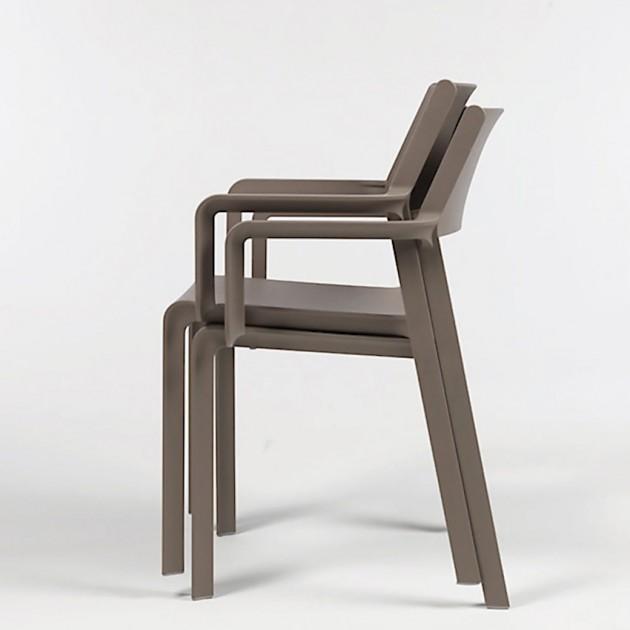 На фото: Крісло Trill Tabacco (40250.53.000), Пластикові крісла Nardi, каталог, ціна