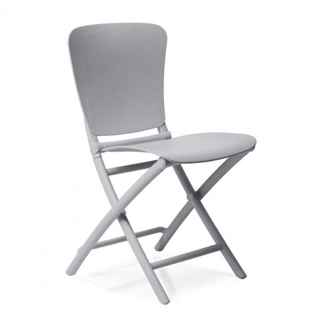 На фото: Розкладний стілець Zac Classic Grigio (40324.03.000), Пластикові стільці Nardi, каталог, ціна