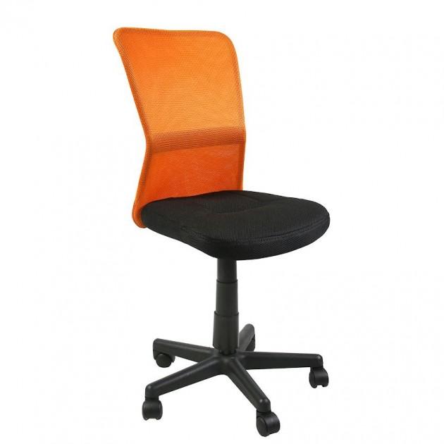 На фото: Офісний стілець Belice Black Orange (27731), Офісні крісла Office4You, каталог, ціна