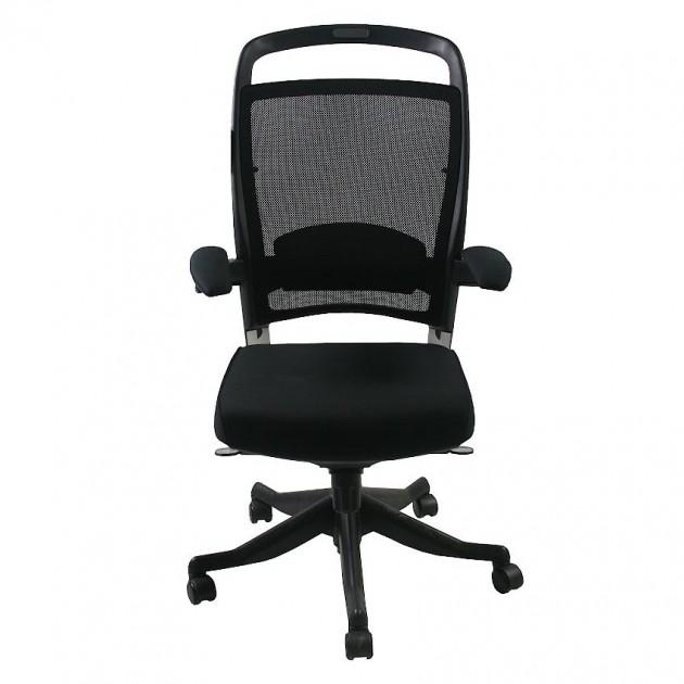 На фото: Офісне крісло Fulkrum Black (09264), Крісла керівника Office4You, каталог, ціна