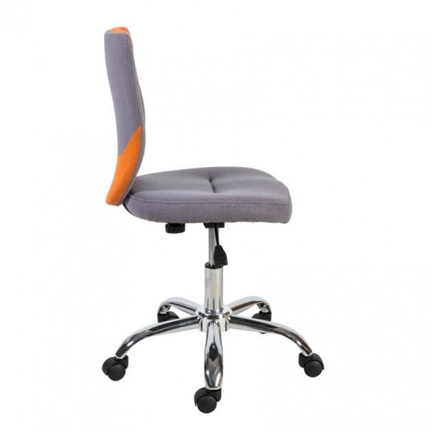 На фото: Офісний стілець Poppy Grey Orange (38153), Офісні крісла Office4You, каталог, ціна