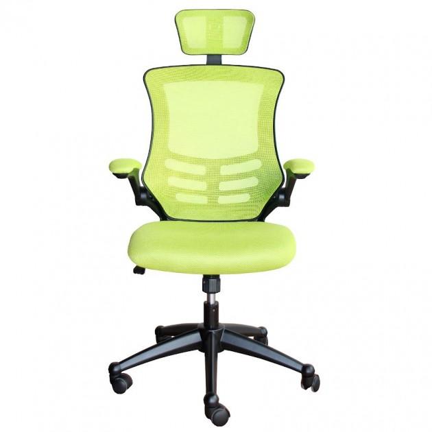 На фото: Офісне крісло Ragusa Light Green (27716), Офісні крісла Office4You, каталог, ціна