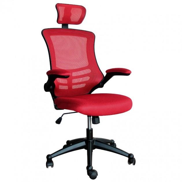 На фото: Офісне крісло Ragusa Red (27717), Офісні крісла Office4You, каталог, ціна