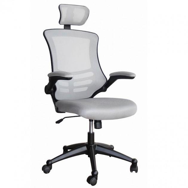 На фото: Офисное кресло Ragusa Light Grey (27718), Офісні крісла Office4You, каталог, ціна