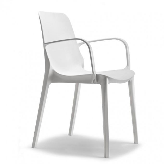 На фото: Крісло Ginevra 2333 Linen (233311), Пластикові крісла S•CAB, каталог, ціна