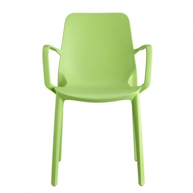 На фото: Крісло Ginevra 2333 Light Green (233351), Пластикові крісла S•CAB, каталог, ціна