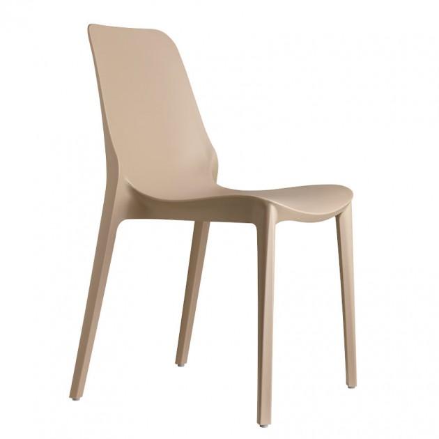 На фото: Стілець Ginevra 2334 Dove Grey (233415), Пластикові стільці S•CAB, каталог, ціна