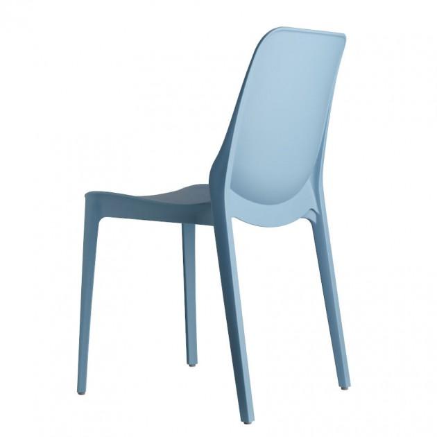 На фото: Стілець Ginevra 2334 Azzurro (233462), Пластикові стільці S•CAB, каталог, ціна