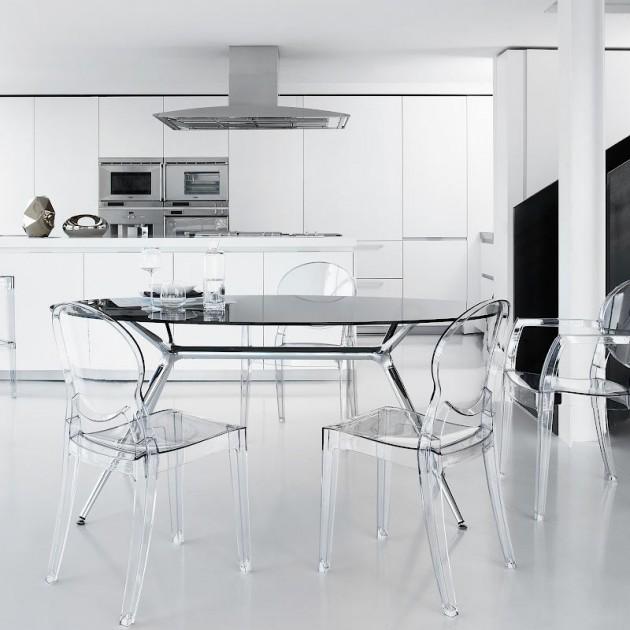 На фото: Стілець Igloo 2357 Nero (2357380), Стільці для дому SCAB Design, каталог, ціна