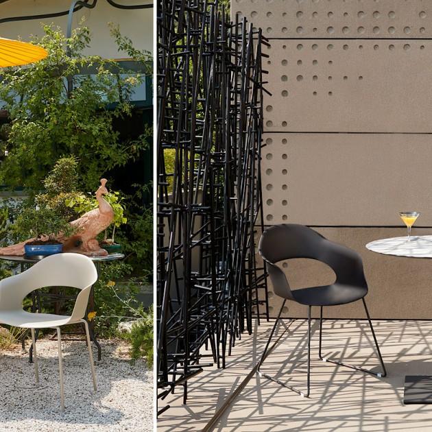 На фото: Крісло Lady B 2696 Technopolymer Black (2696VN80), Пластикові крісла S•CAB, каталог, ціна