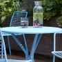 На фото: Металевий стіл Leo 2719 Light Blue (2719VZ), Круглі столи S•CAB, каталог, ціна