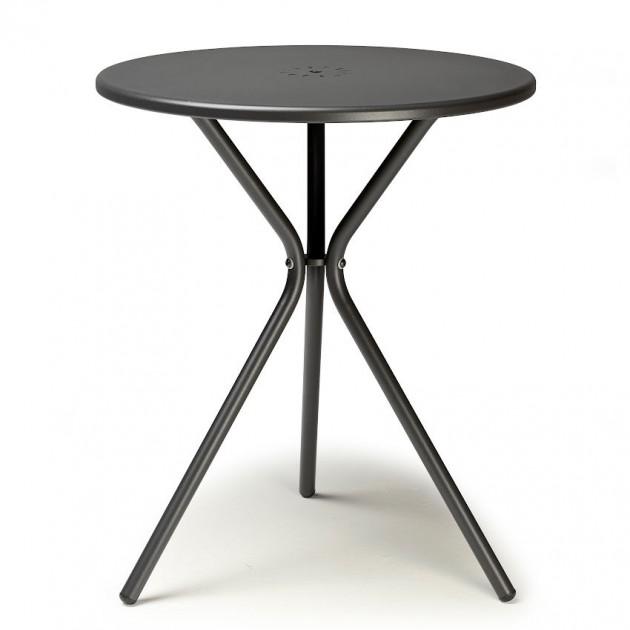 На фото: Металевий стіл Leo 2719 Antracite (2719VA), Круглі столи S•CAB, каталог, ціна