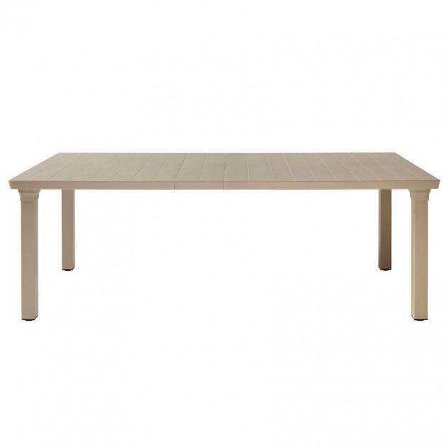 На фото: Розсувний стіл Per3 1893 Dove Grey (189315), Пластикові столи SCAB Design, каталог, ціна