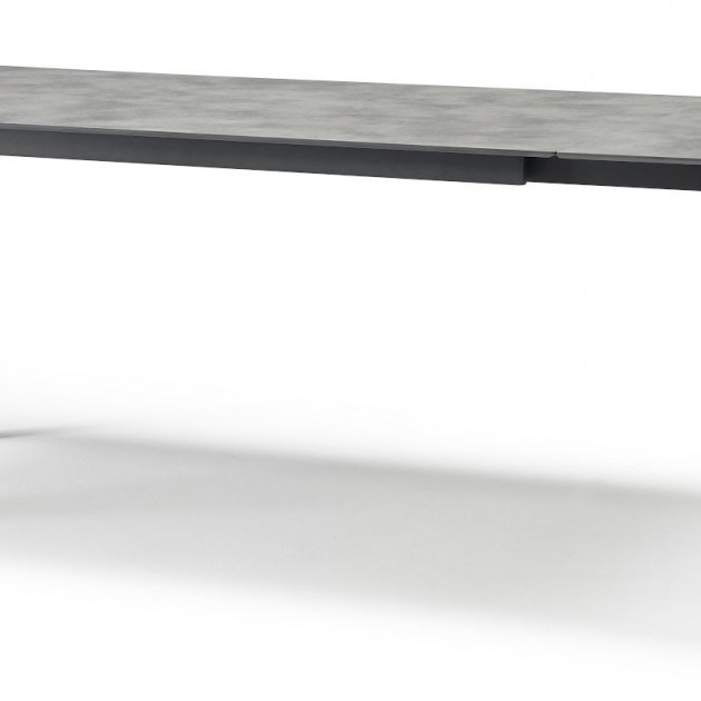 На фото: Обідній стіл Pranzo 2418 Antracite Concrete (2418VA87), Великі столи SCAB Design, каталог, ціна