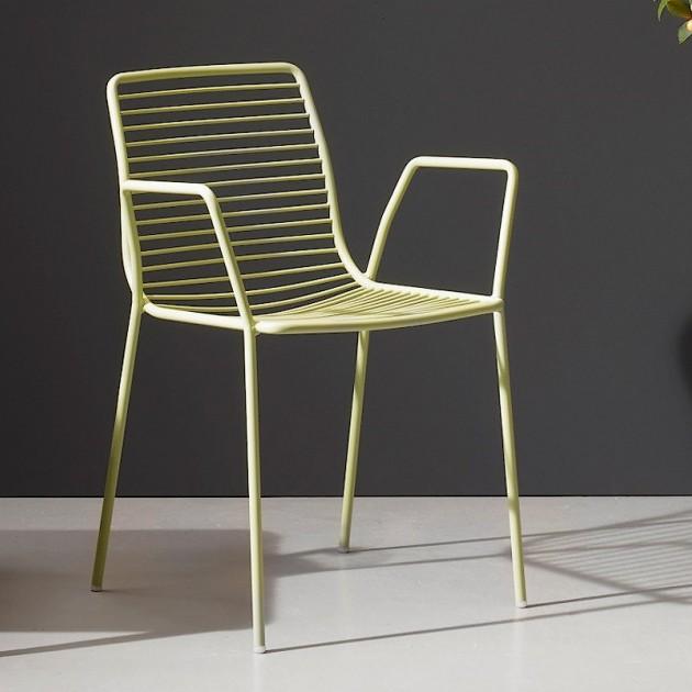 На фото: Крісло Summer 2520 Willow Green (2520VV), Металеві крісла S•CAB, каталог, ціна