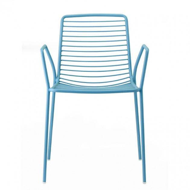 На фото: Крісло Summer 2520 Light Blue (2520VZ), Металеві крісла S•CAB, каталог, ціна