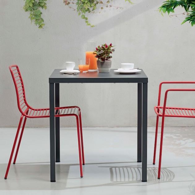 На фото: Стілець Summer 2522 Brick Red (2522VM), Металеві стільці S•CAB, каталог, ціна
