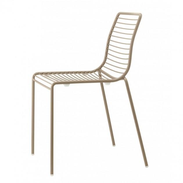 На фото: Стілець Summer 2522 Dove Grey (2522VT), Металеві стільці S•CAB, каталог, ціна