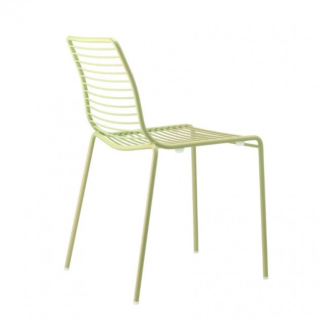 На фото: Стілець Summer 2522 Willow Green (2522VV), Металеві стільці S•CAB, каталог, ціна