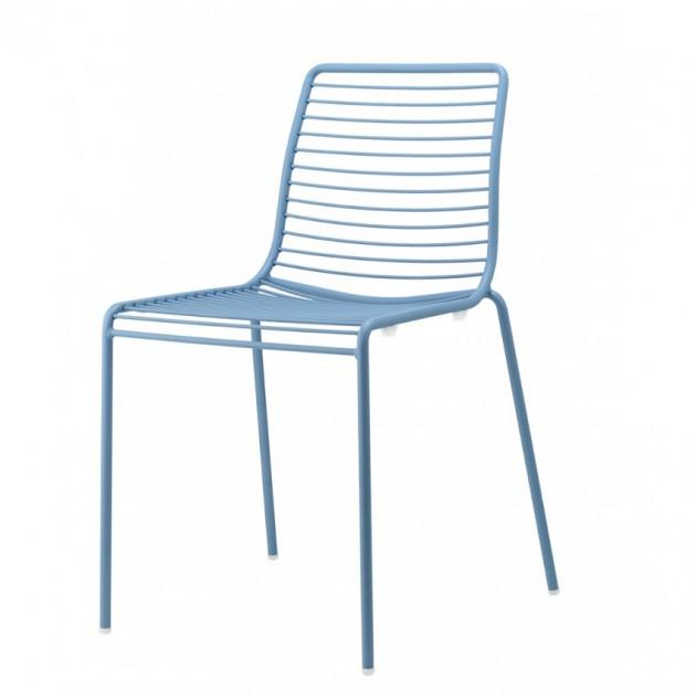 На фото: Стілець Summer 2522 Light Blue (2522VZ), Металеві стільці S•CAB, каталог, ціна